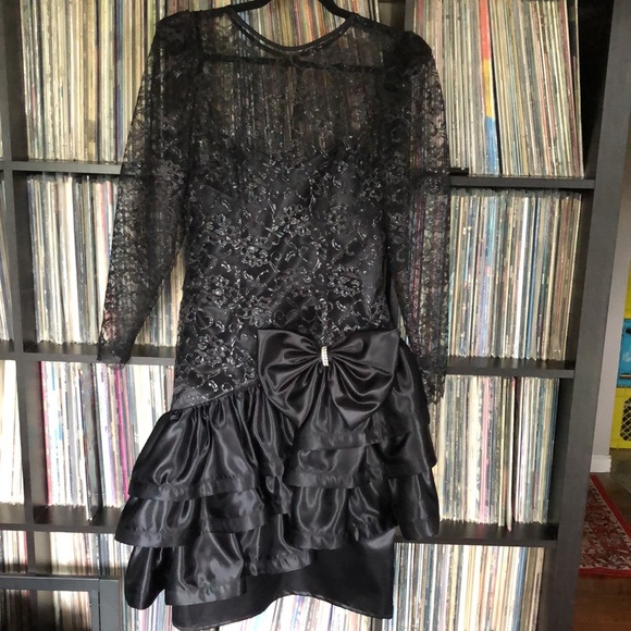Vintage 80s Formal Dress